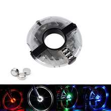 Bike Cycling Hubs Lights Front/Rear Bicycle Light Spoke Decoration Warning LED Wheel Lamp Waterproof Bike Accessories