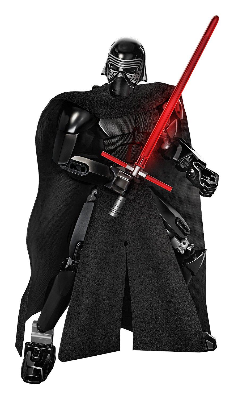 KSZ Star Wars 7 Kylo Ren Captain Phasma Rey Poe Dameron Finn Figure toys building blocks compatible legoe