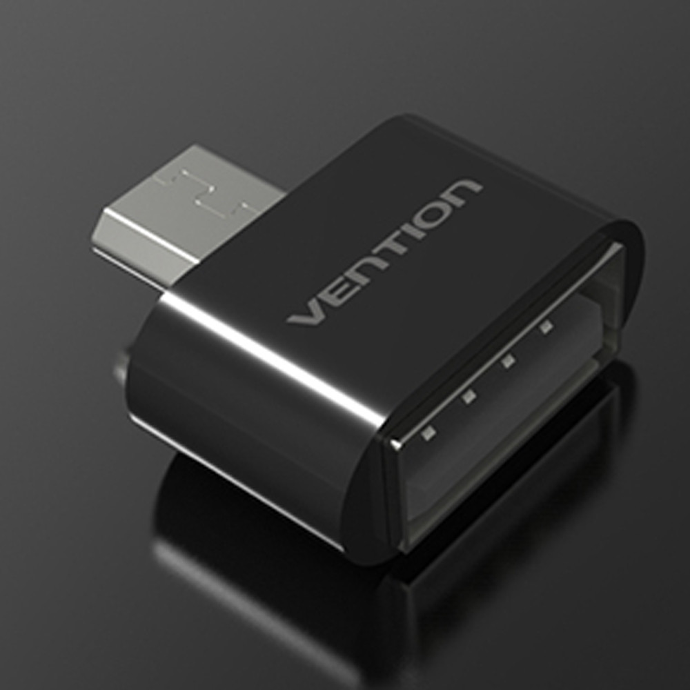 Vention VAS-A07 Micro USB To USB OTG Mini Adapter 2.0 Converter for Android