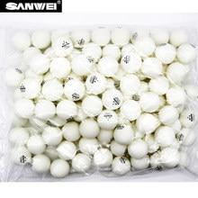 ITTF SANWEI 1 Star ABS 40+ Seamed PP Ball best quality long life Table Tennis ball / ping pong ball 100pcs/bag