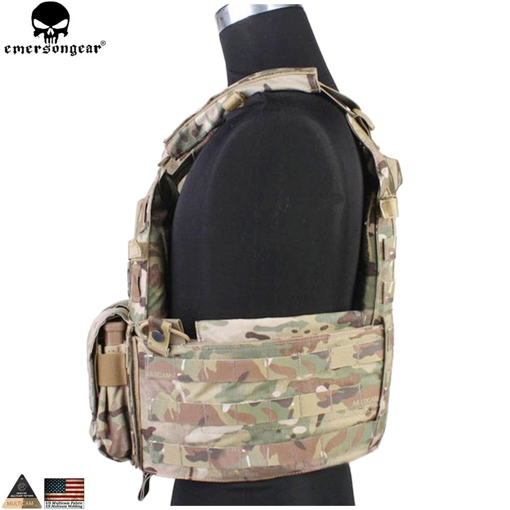 EMERSONGEAR Tactical Modular Vest med Airsoft 094K M4 Mag Pouch - Sportkläder och accessoarer - Foto 4