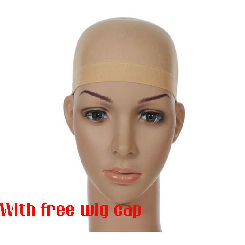 Similler kobiety syntetyczna peruka Bob z płaską grzywką czarne brązowe krótkie kręcone włosy Cosplay