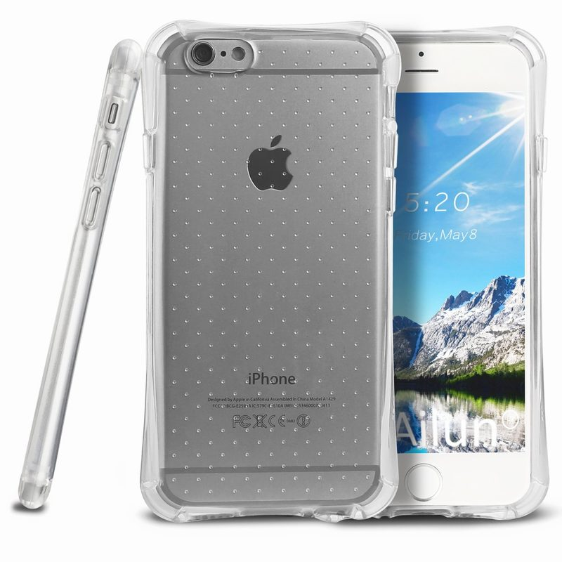 59ded928680 Air Buffer Corners Frame Clear Back Cover fundas For iphone 6 plus iphone 6  6S case 6plus mujer hombre silicon telefoon hoesjes-in Fitted Cases from ...