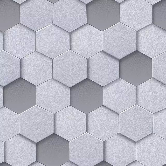 3d Modern Geometric Wall Paper Roll For Walls Vinyl