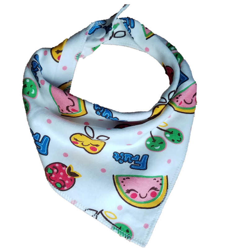 Baby Bibs Infant Burp Cloths Toddler Scarf Feeding Cartoon Saliva Towel Waterproof Coverall Baby Animals Baby Feeding Accessorie