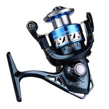 Teben True 8 Bearings 5.2:1 Fresh Water Carp Fishing Spinning Reel gts1000-5000 Series Original Rubber Handle Reels Fishing original bearings ssr15xv1uu