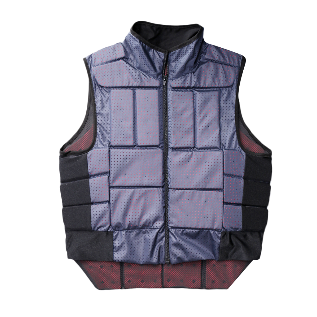 Outdoor Hunting Equestrian Body Protector Safety Horse Riding Vest EVA Padded for Adult XL/L/M/S/XS Hunting Vest Camping Access safety equestrian horse riding vest protective body protector navy adult s breathable vest waistcoat camping hiking accessory