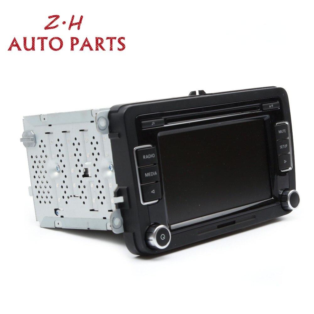NEW 5ND 035 190 A RCD510 Car Radio CD Player With USB+AUX SD Card AM/FM For VW Golf MK6 Jetta Passat B6 3C Tiguan Polo Touran