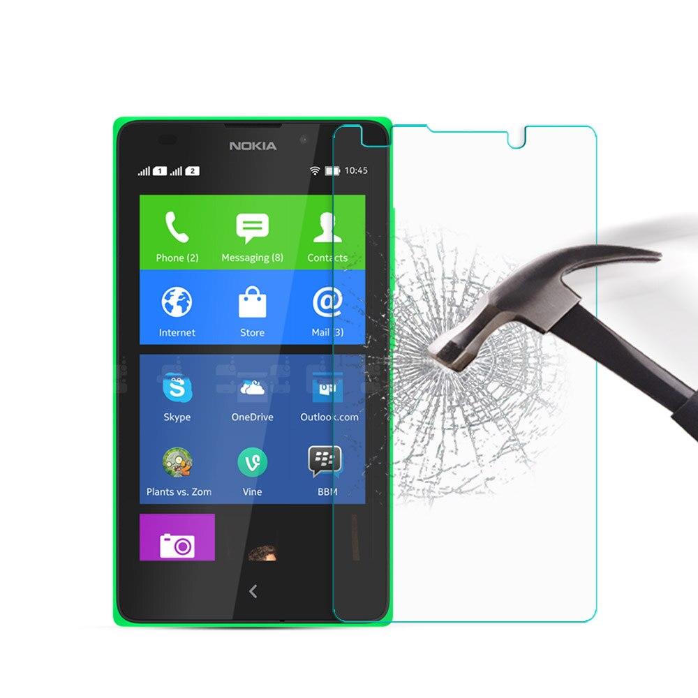 For Nokia XL Tempered Glass 9H 2.5D Premium Screen Protector Film For Microsoft Nokia XL NokiaXL 4G Dual Sim 5.0 Cover