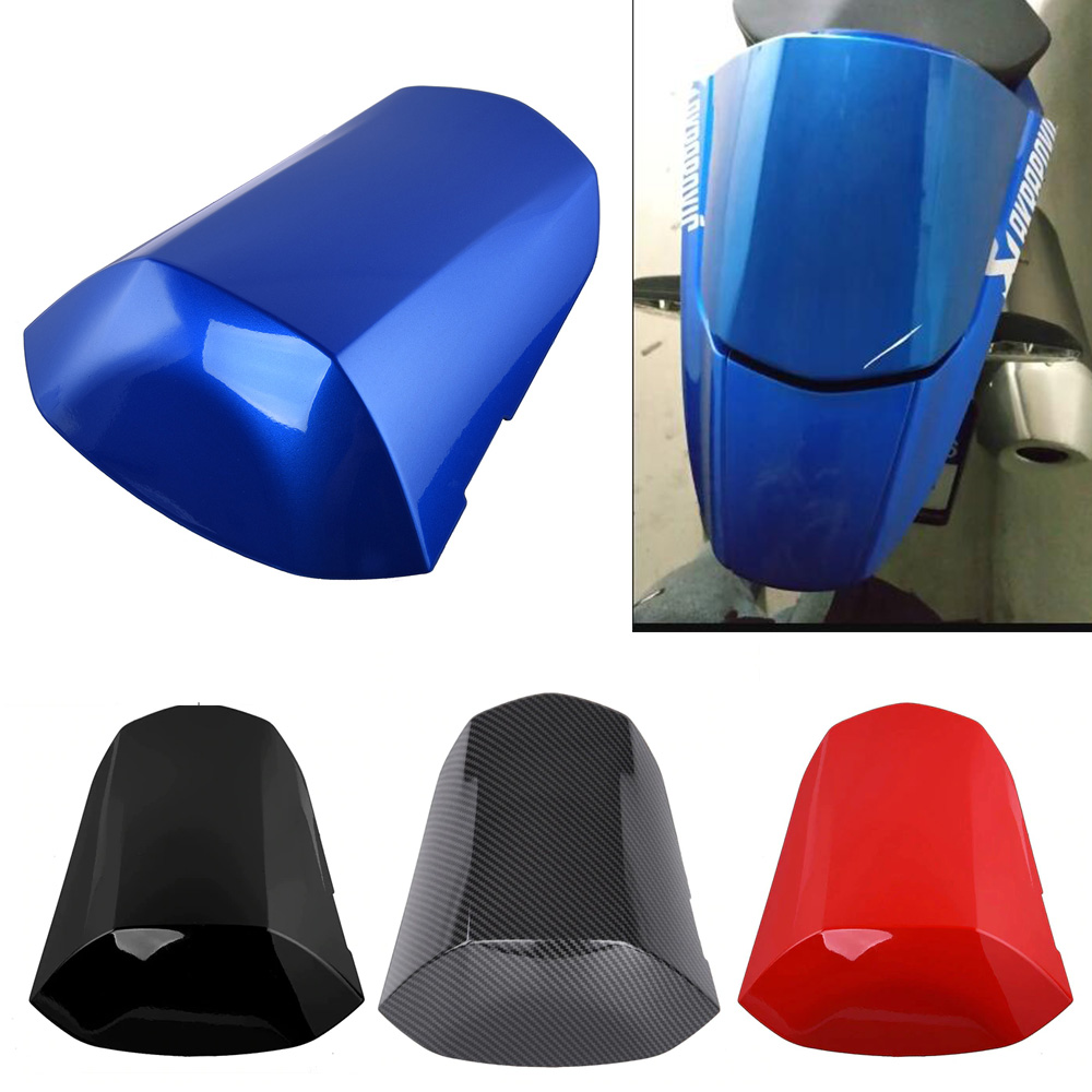 Motorcycle ABS PlasticRear Pillion Passenger Hard Seat Cowl Cover Section Fairing For 2017-2018 Suzuki GSXR GSX-R 1000 17 18