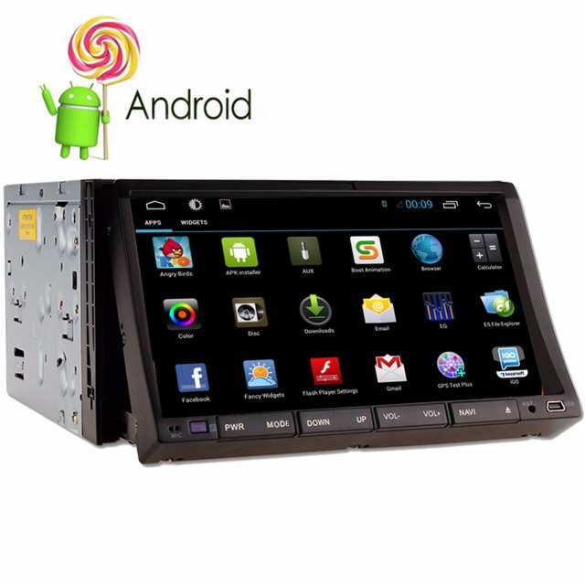 Two 2din Android 5.1 Car DVD player GPS Navigation Indash Car PC Stereo aduio video+Wifi+Bluetooth+Radio+Capacitive Touch Screen