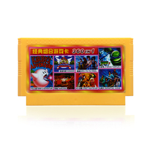 8bit  game cartridge classical game card  hot sale yellow card sega card for plug game console slot video game