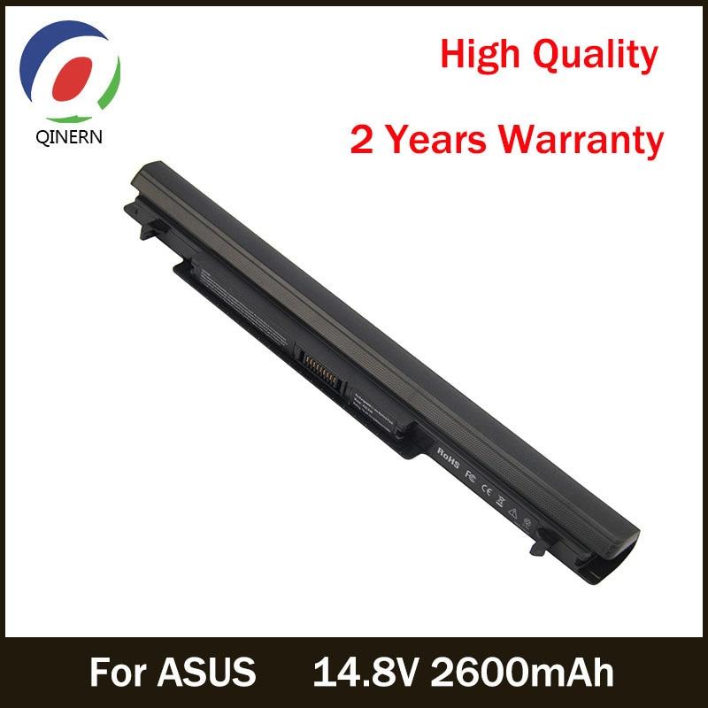 14.8V 2600mAh Laptop Battery For ASUS A41-K56 For ASAU Series K46CA K46CM K46CA-WX013 K46CA-WX014 K46CA-WX015 K46CM-WX002D