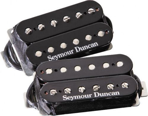Guitar Pickus Humbucker Pickups Set Seymour Duncan sh2n JAZZ And Sh4 JB model 4Conductor Black 1