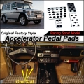 Car Accelerator Pedal Pad / Cover of Sport Model Design / Drill Type Install For Benz G320 CDI G500 G550 G55 G63 G65 AT