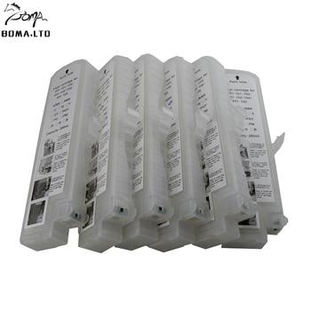 280 ML EmptyPFi102 cartucho de tinta rellenable para Canon PFI-102 iPF600 iPF700 iPF610 iPF605 iPF710 iPF720 LP17 impresora