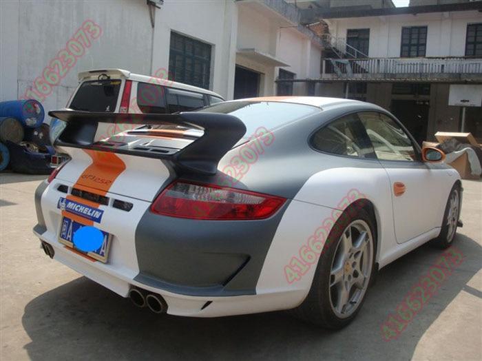 Fit for Porsche Carrera  gt carbon fiber rear spoiler rear wing maserati granturismo carbon spoiler
