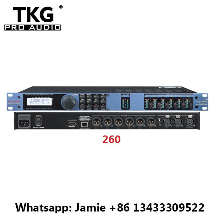 TKG top quality dj equipment effect Sound processor 260 Driverack Drive Rack 260 DriveRack 260 digital