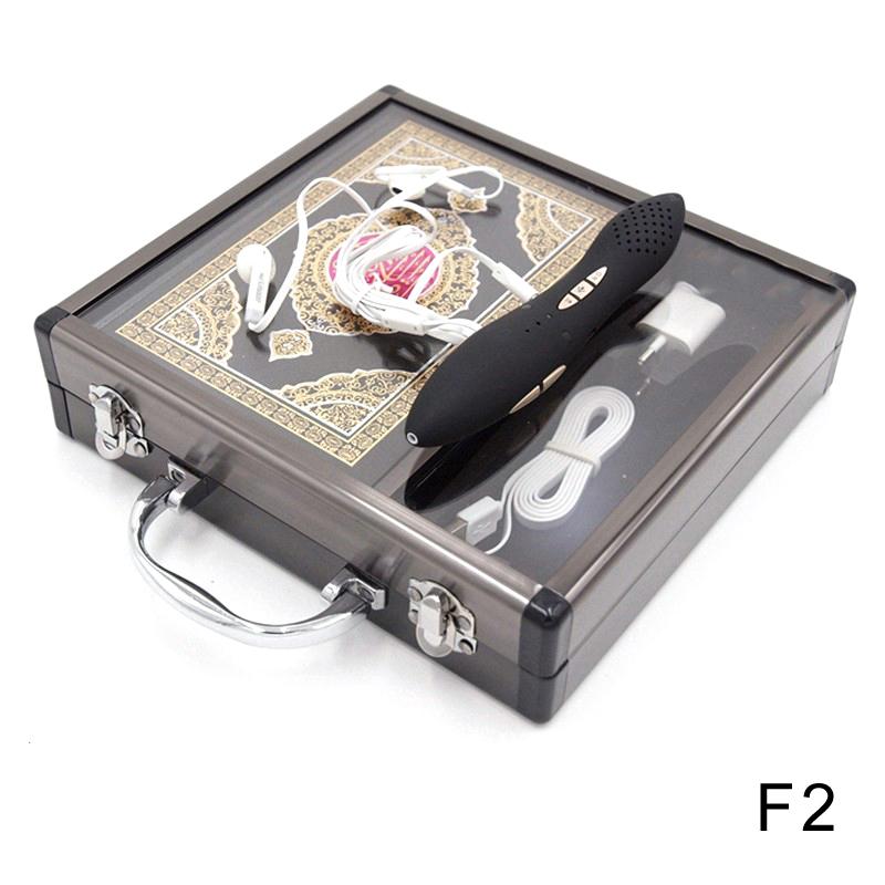 Prix pour Ramadan vente 2 Année Garantie Numérique Coran stylo 8 GB boîte En Métal Stylo Numérique Coran stylo parlant Anglais, français, ourdou etc.