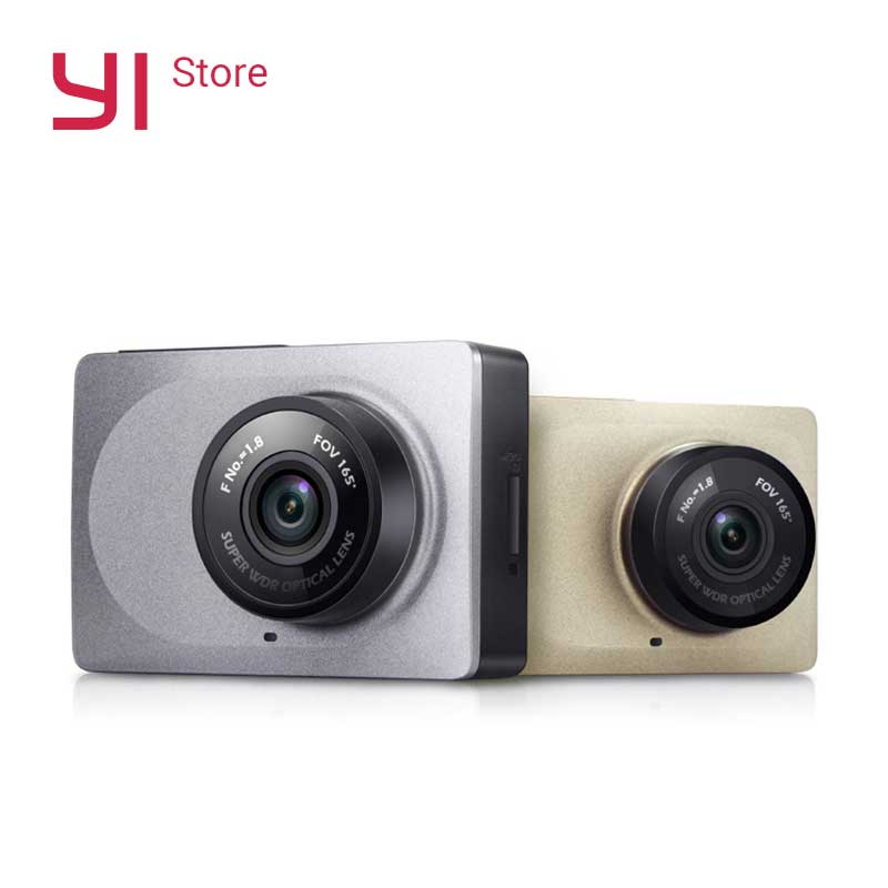 "YI Smart Dash Camera WiFi Nattvision HD 1080P 2,7 ""165 graders 60 fps ADAS Safe Reminder"