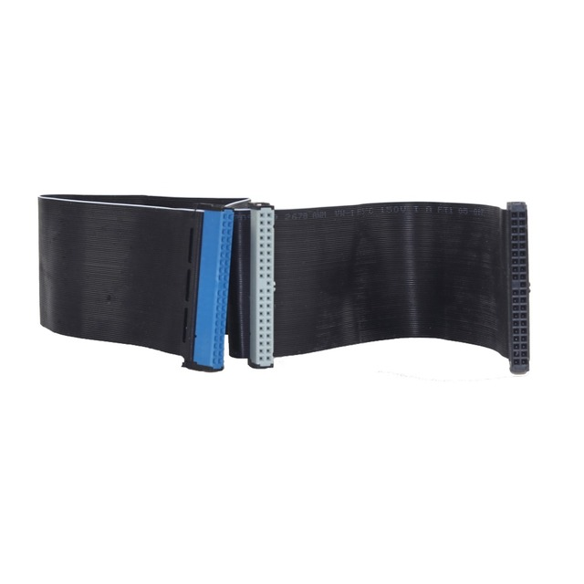 40cm 3.5 inch Hard Drive Ribbon Cable 39 Pin IDE Female to Female F/F Extension Data Computer SATA HDD Cable