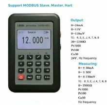 New LB06 Hart Modbus 4~20mA/0~10V Process Calibrator Current Signal Generator Source