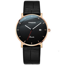 Vinoce Men Watch 2019 Hot Wrist Brand Luxury Famous Male Clock Automatic Watch Real Quartz Watch Relogio Masculino hot sale famous bp brand princess butterfly lady lucky clover watch austrian crystal automatic self wind wrist watch