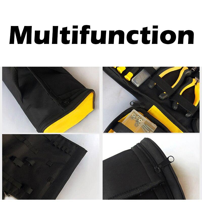 Werkzeug Organisatoren Werkzeuge Urijk 1 Pc Taille Tasche Werkzeug Tasche Für Elektriker Carpenter Auftragnehmer Handware Werkzeug Lagerung Taschen Multi-größe Magnetische Lagerung Taschen