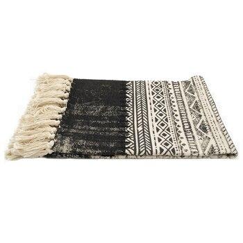 Weiße Und Schwarze Teppiche | LOLA16 Kelim Schwarz Weiß 100 ...