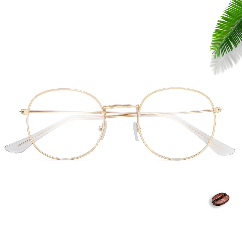 oval Eyeglasses Frame Women Mens Metal Transparent Lens Glasses Gold Silver Bronze Shades Sexy Ladies Brand Designer Back To Search Resultsapparel Accessories el Malus Women's Sunglasses
