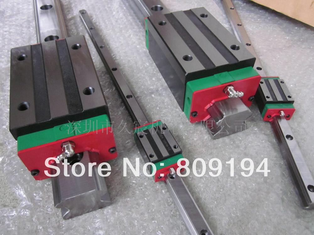 1300mm HIWIN EGR20 linear guide rail from taiwan free shipping to argentina 2 pcs hgr25 3000mm and hgw25c 4pcs hiwin from taiwan linear guide rail