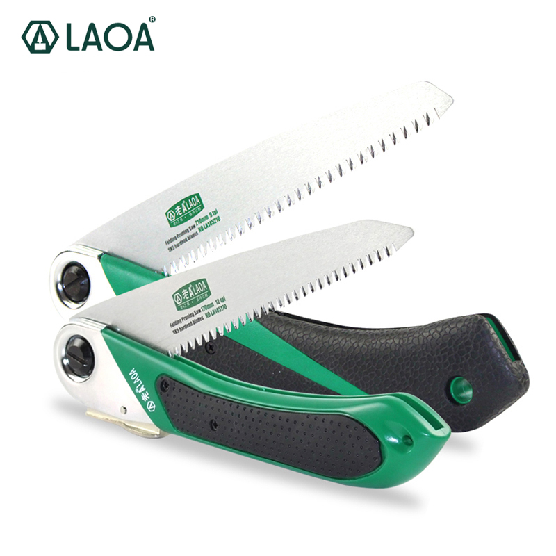 LAOA 1PCS Wonder Saw Portable Folding SK5 Steel Pruning Garden Outdoor Tools Sharp Tooth цена