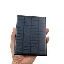 1pc x 12V 2W Solar Panel Portable Mini Sunpower DIY Module Panel System For Solar Lamp Battery Toys Phone Charger Solar Cells