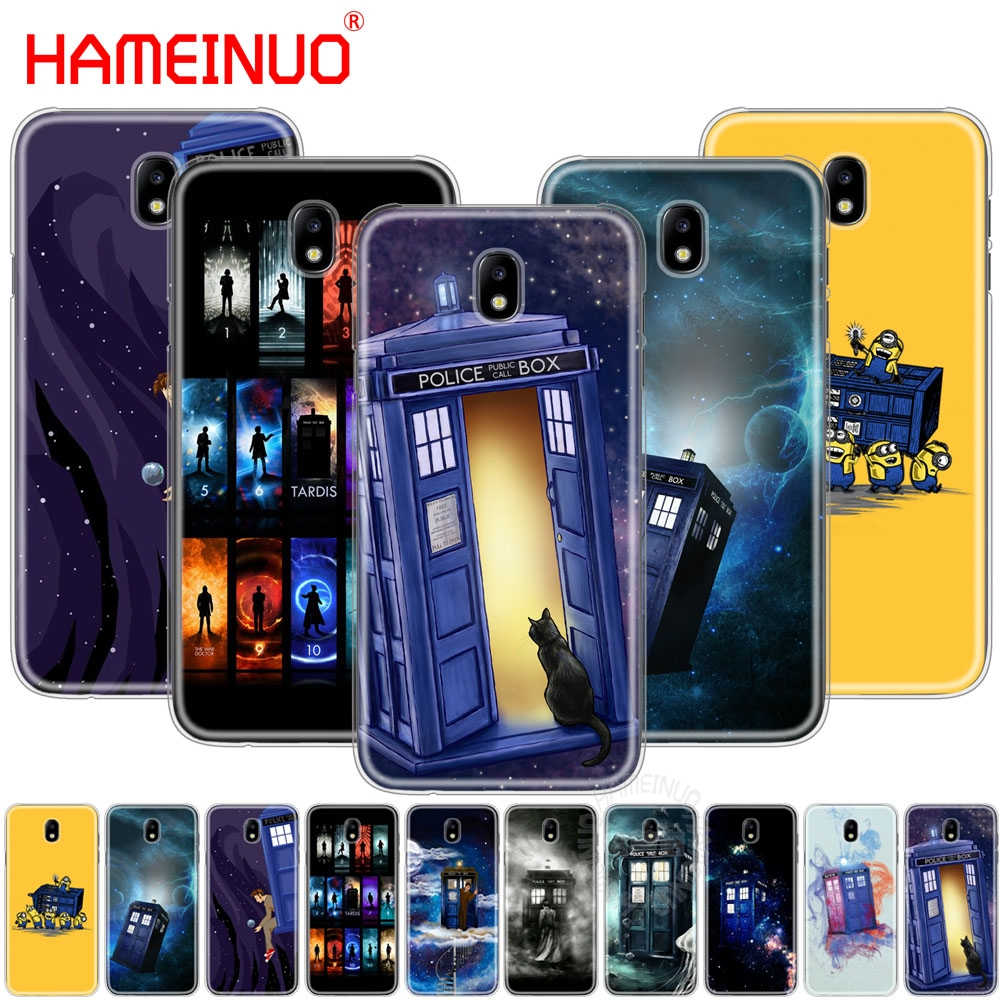 Hameinuo Tardis Box Doctor Who Cover Phone Case For Samsung Galaxy J3 J5 J7 2017 J527 J727 J327 J330 J530 J730 Pro Bracing Up The Whole System And Strengthening It Phone Bags & Cases Cellphones & Telecommunications