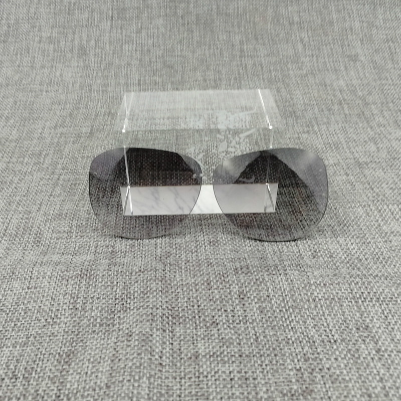 Spare Parts For 827 Sunglasses Metal Frame Oval Lens For Sun Glasses Frame Alternative Lens Spare Parts With Free Screw Driver