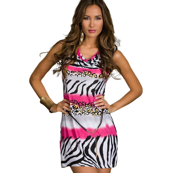 Zebra And Orange Prom Dresses 74
