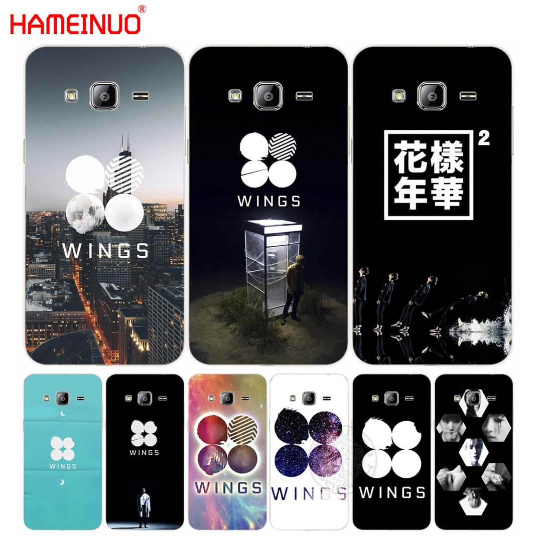 HAMEINUO BTS Bangtan Wings Cover Phone Case For Samsung
