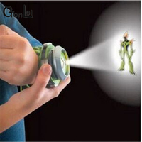 2015 Hot Selling Ben 10 Style Japan Projector Watch BAN DAI Genuine Toys For Kids Children