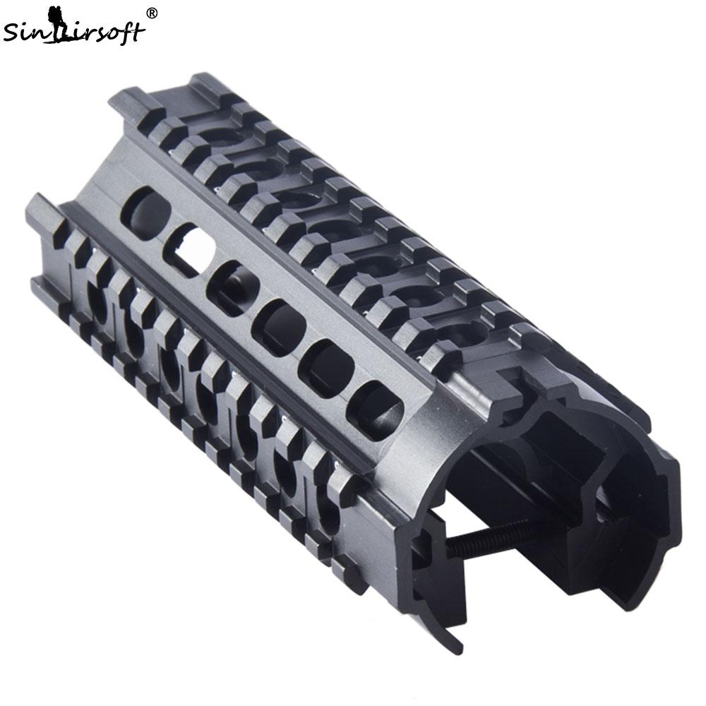 SINAIRSOFT Tactical MP5 H K Triple Picatinny Rail Compact Handguard Mount System SA4060