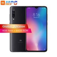 Global Version Xiaomi Mi 9 Mi9 6GB 64GB Mobile Phone Snapdragon 855 Octa Core 6.39 48MP Triple Camera In Display Fingerprint