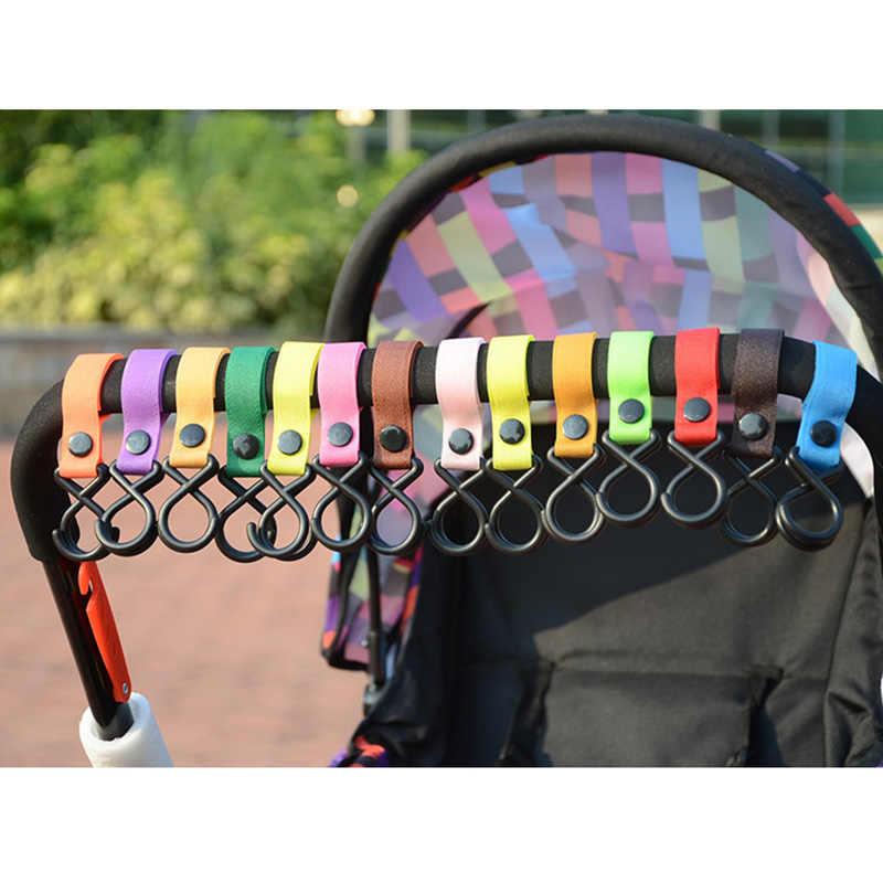 Bambino Passeggino Universale Forte Gancio E Velcro Gancio Per Pannolino Del Bambino Sacchetti di Generi Alimentari Abbigliamento pantaloni Multi-Purpose Multi-colore