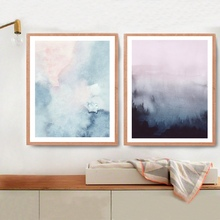 handmade bstract Art Canvas Painting Modern Wall Picture Watercolor Pastel Paintings and Poster Home Decor