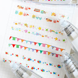 Милый мультфильм декоративная лента-корректор Kawaii цветок кружева украшение лента для детей школьные оформленный скрапбукингом дневник