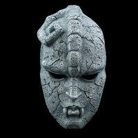 Kamień Duch Całą Twarz Maska Żywicy Nieletnich Komiksy JOJO Niesamowite Przygody Gargulec Motyw Maski Halloween Masquerade Party Rekwizyty
