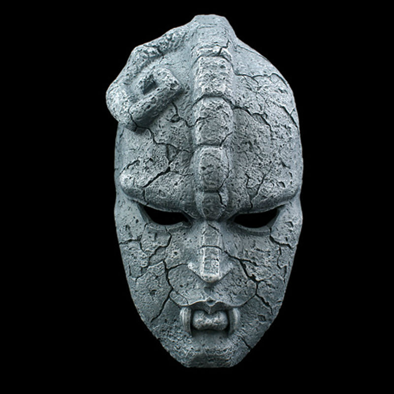 Stone Ghost Full Face Resin Mask Juvenile Comics JOJO Amazing Adventures Gargoyle Theme Masks Halloween Masquerade Party PropsStone Ghost Full Face Resin Mask Juvenile Comics JOJO Amazing Adventures Gargoyle Theme Masks Halloween Masquerade Party Props