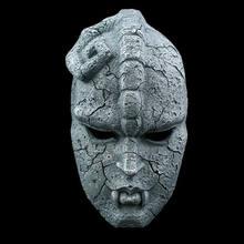 Máscara de resina de cara completa de fantasma de piedra, cómics juveniles, JOJO, aventuras increíbles, máscara de temática de gárgola, accesorios para fiesta de Halloween