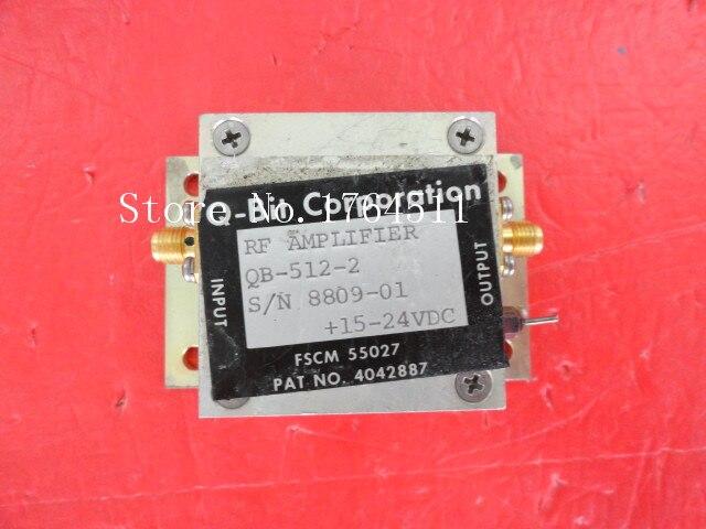 [BELLA] Q-bit QB-512-2 15V SMA Supply Amplifier
