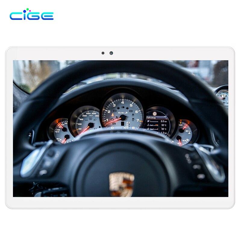 CIGE 10,1 дюймов Octa core планшетный ПК Android 6,0 4 г LTE Оперативная память 4 ГБ Оперативная память 64 ГБ Встроенная память 1920x1200 ips gps Bluetooth таблетки DHL Бес...