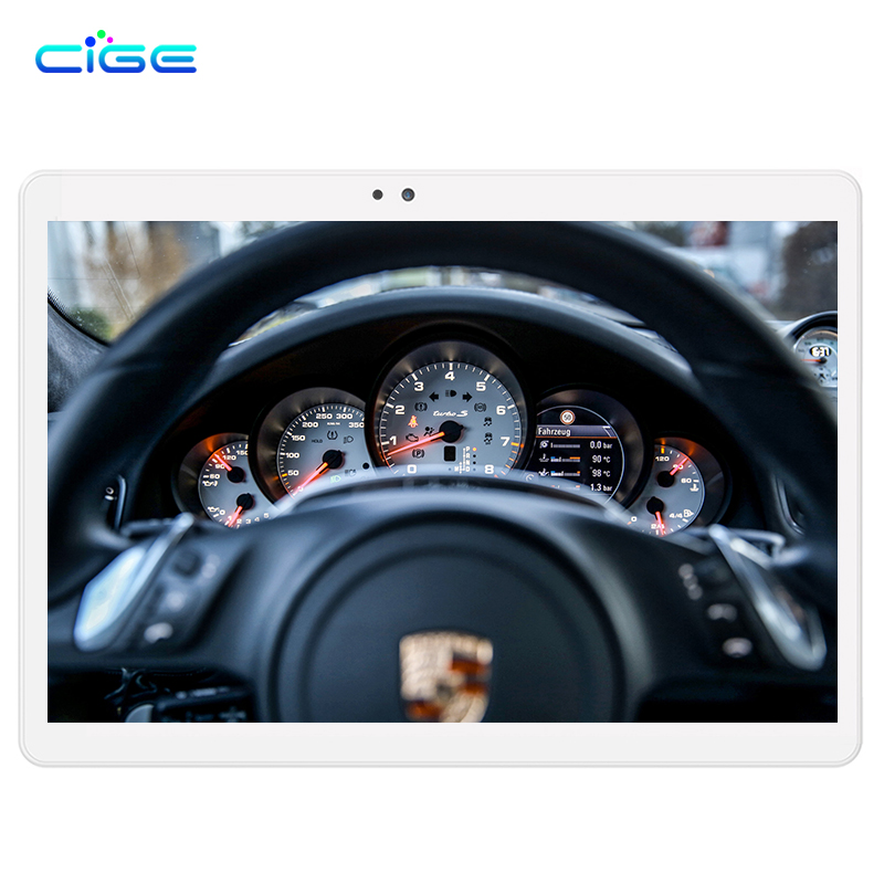 цены CIGE 10.1 inch Octa core tablet PC Android 6.0 4G LTE RAM 4GB RAM 64GB ROM 1920x1200 IPS GPS Bluetooth tablets DHL free shipping