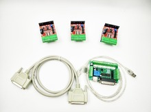 CNC Router Kit 3 Axis, 3pcs TB6600 4.0A stepper motor driver + 5 axis interface board